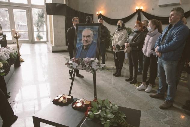 В Москве простились с Александром Ярдошвили