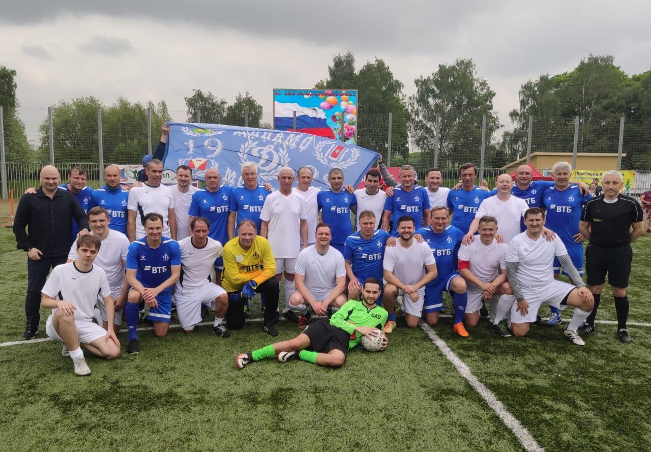 Спортивный праздник в САО